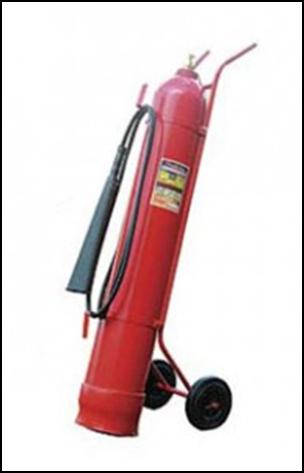 Огнетушитель углекислотный ОУ-40