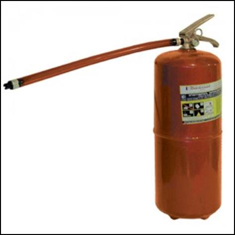 Огнетушитель порошковый ОП–8(з)