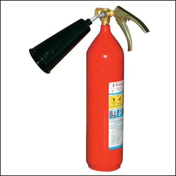 Огнетушитель углекислотный ОУ-2